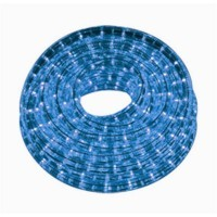 TIRA INTERIOR 60 LED 2835 12V AZUL X MTR