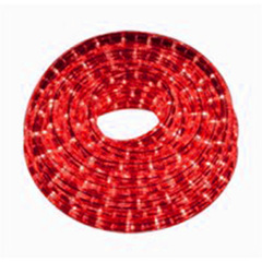 TIRA INTERIOR 60 LED 2835 12V ROJO X MTR