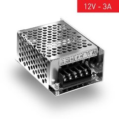 FUENTE SWITCH METAL 220/12V 3A 35W